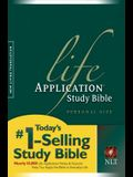 Life Application Study Bible-Nlt-Personal Size