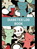Diabetes Log Book For Kids: Blood Sugar Logbook For Children, Daily Glucose Tracker For Kids, Travel Size For Recording Mealtime Readings, Diabeti