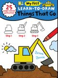 My First Learn-To-Draw: Things That Go: (25 Wipe Clean Activities + Dry Erase Marker)