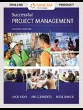 Mindtap Project Management, 1 Term (6 Months) Printed Access Card for Gido/Clements/Baker's Successful Project Management, 7th