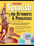 Spanish for Attorneys and Paralegals [With CD (Audio)]