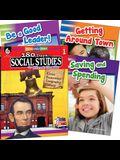 Learn-At-Home: Social Studies Bundle Grade 1: 4-Book Set