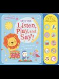 My First Listen, Play, and Say!