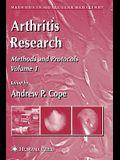 Arthritis Research: Volume 1: Methods and Protocols