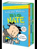 Big Nate: Triple Decker Box Set: Big Nate: What Could Possibly Go Wrong? and Big Nate: Here Goes Nothing, and Big Nate: Genius Mode