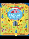 Math Mazes: Adding and Subtracting