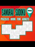 Samurai Sudoku Puzzles Book for Adults Easy: Puzzles Book to Shape your brain / Activity book for adults / Easy Samurai Sudoku Puzzles