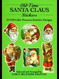 Old-Time Santa Claus Stickers: 24 Full-Color Pressure-Sensitive Designs