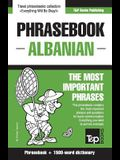 English-Albanian phrasebook and 1500-word dictionary
