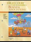 High Court Case Summaries on Business Associations
