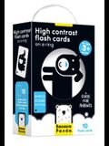 High Contrast Flash Cards on a