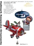 Hallmark Keepsake Ornament Value Guide: Second Edition 1973-2006