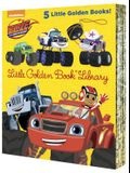 Blaze and the Monster Machines Little Golden Book Library (Blaze and the Monster Machines): Five of Nickeoldeon's Blaze and the Monster Machines Littl