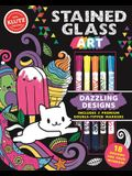 Stained Glass Art: Dazzling Designs (Klutz Activity Book)