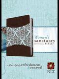 Women's Sanctuary Devotional Bible-NLT
