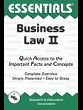 Business Law II Essentials