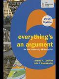 Cp Everything's an Argument 6e U Kentucky 2014