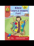 School Zone Bible Colors & Shapes Fun! Workbook