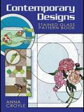 Contemporary Designs Stained Glass Pattern Book