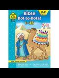 School Zone Bible Dot-To-Dots! 1-25 Workbook