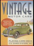 Vintage Motor Cars Card Game