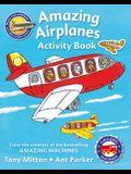 Amazing Machines Amazing Airplanes Activity Book
