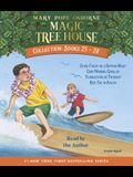Magic Tree House Collection: Books 25-28: #25 Stage Fright on a Summer Night; #26 Good Morning, Gorillas; #27 Thanksgiving on Thursday; #28 High Tide