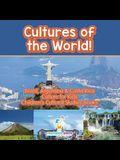 Cultures of the World! Brazil, Argentina & Costa Rica - Culture for Kids - Children's Cultural Studies Books