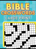 Bible Crosswords: Large Print