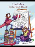 Includas Coloring Book: With Disability Inclusive Activity Pages