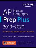 AP Human Geography Prep Plus 2019-2020: 3 Practice Tests + Study Plans + Targeted Review & Practice + Online