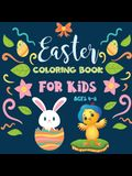 Easter Coloring Books for Kids: Bunny Coloring Book for Kids: Easter Coloring Book for Ages 4-8 (Coloring Books for Kids)