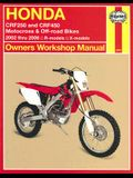 Honda Crf250 and Crf450 Motocross & Off-Road Bikes: 2002 Thru 2006 R-Models, X-Models