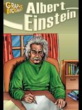 Albert Einstein, Graphic Biography (Saddleback Graphic: Biographies)