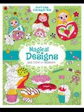 Magical Designs and Color-by-Numbers (Cool & Calm Coloring for Kids)