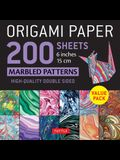 Origami Paper 200 Sheets Marbled Patterns 6 (15 CM): Tuttle Origami Paper: High-Quality Double Sided Origami Sheets Printed with 12 Different Patterns