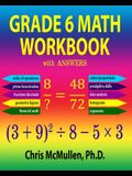 Grade 6 Math Workbook with Answers