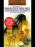 The Memoirs of Sherlock Holmes Audio Boxed Set: Volumes 1-3 (BBC)