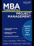 MBA Fundamentals Project Management (Kaplan M
