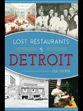 Lost Restaurants of Detroit