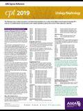 Erc-CPT 2019 Urology/Nephrology