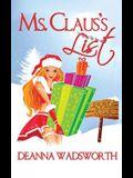 Ms. Claus's List