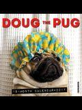 Doug the Pug 2017 Mini Wall Calendar