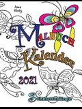 Malbuch Kalender 2021 Schmetterlinge