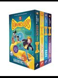 Mr. Lemoncello's Library Books 1-4 (Boxed Set)
