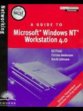 MCSE Guide to Microsoft Windows NT Workstation 4.0