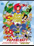 DC Super Heroes and Pets Papercraft