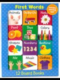 First Words 12 Mini Board Books