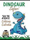 Dinosaur Safari 2021 Coloring Calendar