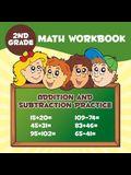 2nd Grade Math Workbook: Addition & Subtraction Practice